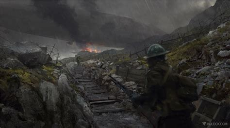 Stunning New Battlefield 1 Leaked Concept Arts Possibly