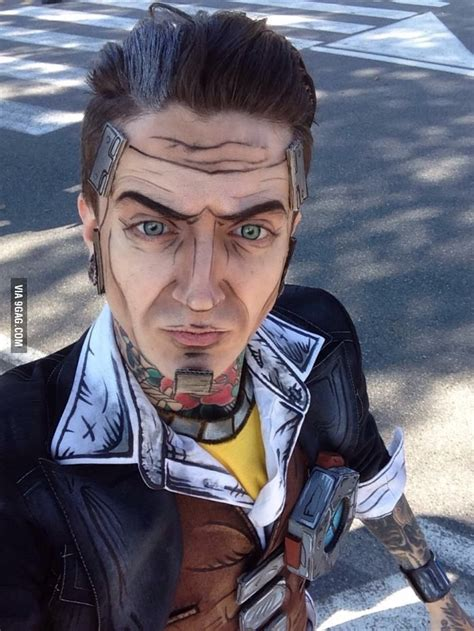 My attempt on a Handsome Jack cosplay from Borderlands 2