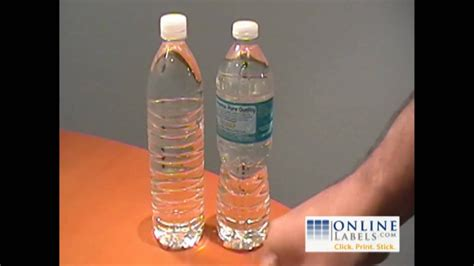 Create Your Own Personalized Water Bottle Labels - DIY