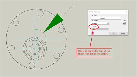 inventor sketch properties scale greyed out: - Autodesk