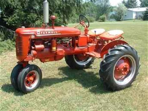 Used Farm Tractors for Sale: Sold Farmall B 2 Seater Sold