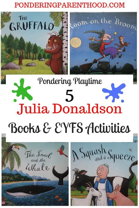 5 Julia Donaldson Books and Learning Activities   World