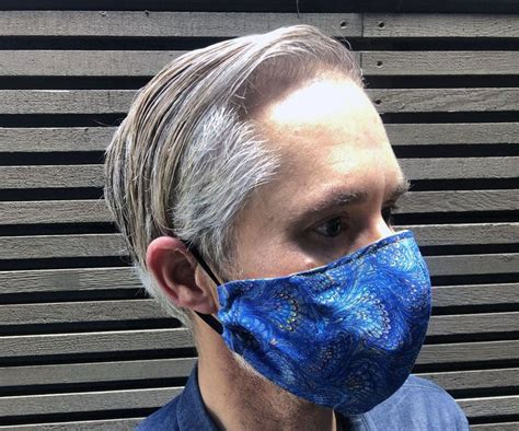 Olson Mask for PPE With Optional Filter Pocket   Diy face