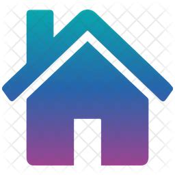 Home Icon of Gradient style - Available in SVG, PNG, EPS