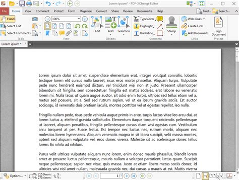 Tracker Software Products :: PDF-XChange Editor