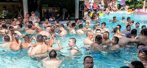 Bear Pool Party Bangkok 2021 takes place during the