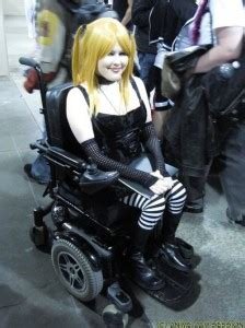 Misa - most famous cosplayer on wheels - New Mobility