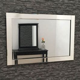 Glass Framed Mirror 80 x 60 cm | Exclusive Mirrors