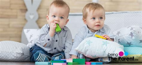50 Exclusive Baby Names For Twin Boys | Being The Parent