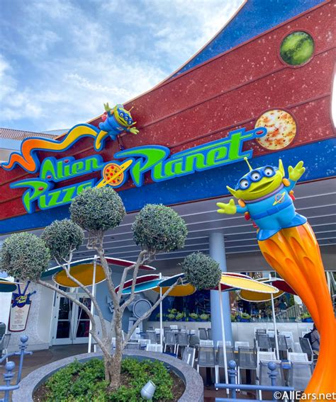 """Exterior Pictures of Alien Pizza Planet - """"A Better Place"""
