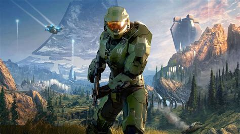 Halo Infinite 2020 Video Game 4K HD Poster Preview