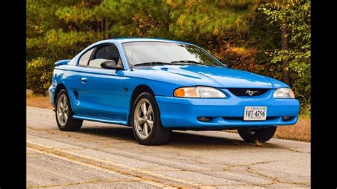 Video: 1994 Ford Mustang GT 5