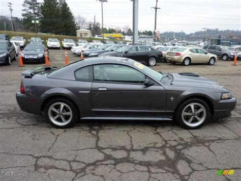 Dark Shadow Grey Metallic 2003 Ford Mustang Mach 1 Coupe